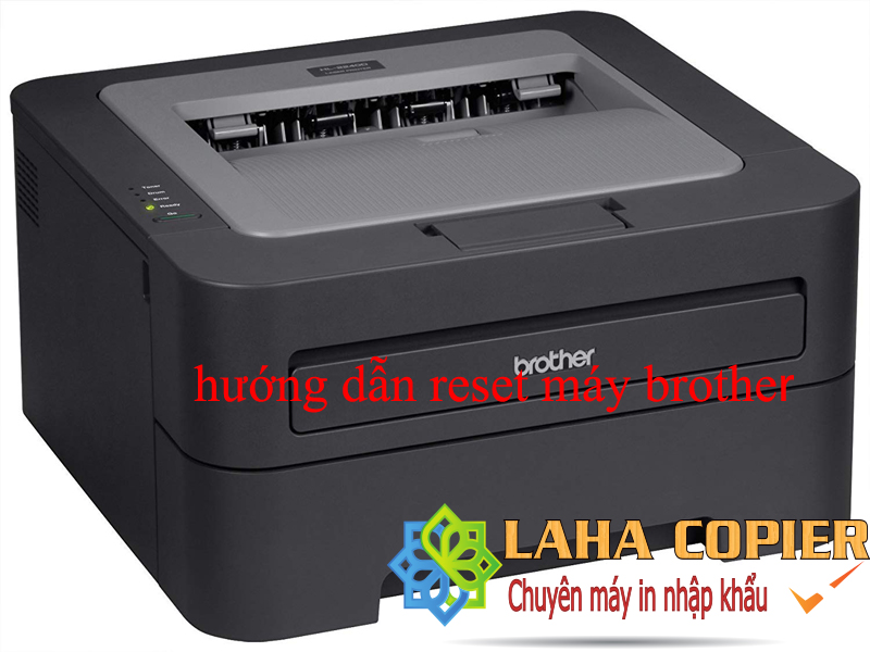 reset brother hl 2240d