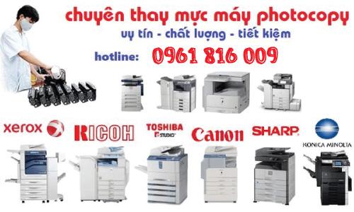 dịch vụ đổ mực máy photocopy uy tín giá rẻ