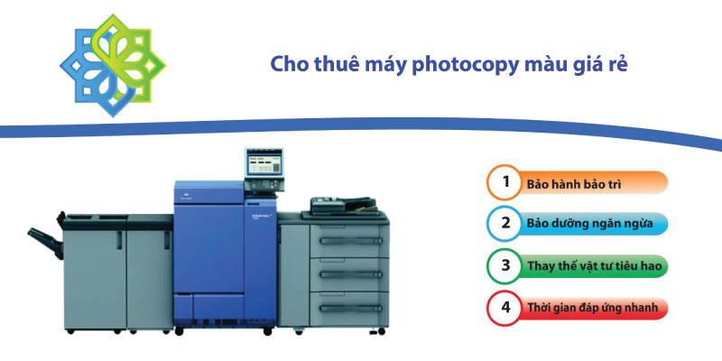 dịch vụ cho thuê máy photocopy màu uy tín giá rẻ