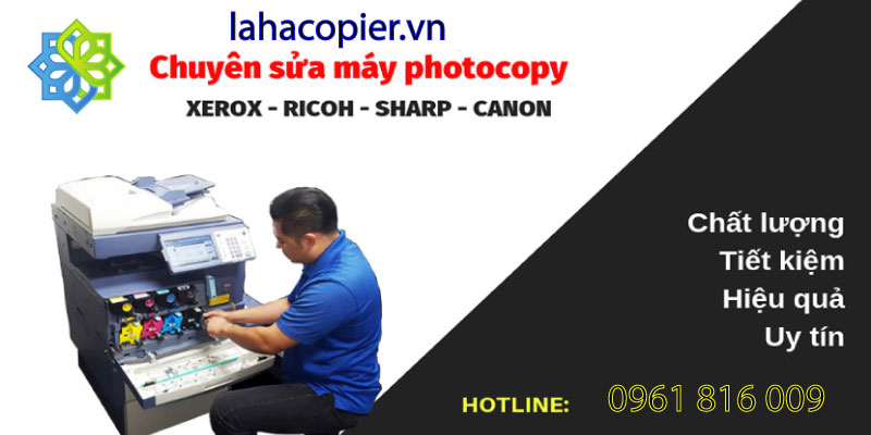dịch vụ sửa chữa máy photocopy lahacopier